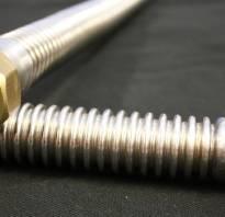 Гофрированная труба из нержавейки размеры