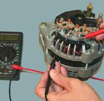 Как проверить генератор ваз 2110 мультиметром