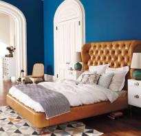 Дизайн спальни без шкафа