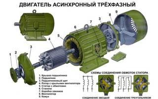 Схема регулятора оборотов асинхронного двигателя 220в