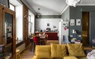 Интерьер 1 комнатной квартиры 30