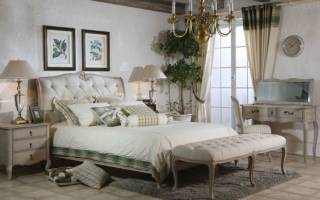 Дизайн спальни стиль прованс
