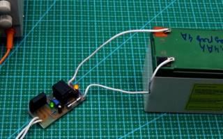 Подзарядное устройство для аккумулятора 12в своими руками