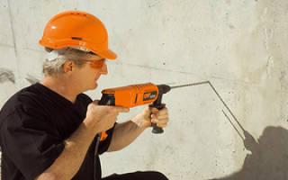 Чем сверлить бетонные стены для дюбелей